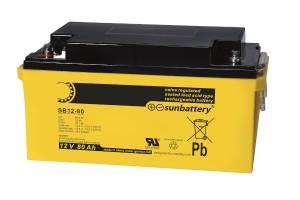 Sun Battery SB12-80 12V 80Ah Blei-Akku