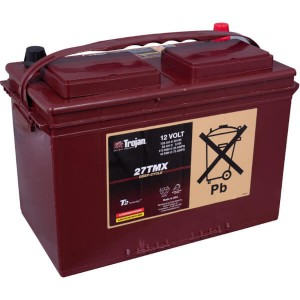 Trojan 27TMX 12V 105Ah Deep Cycle Batterie