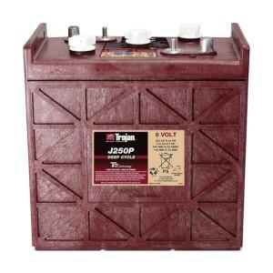 Trojan J250P 6V 250Ah Deep Cycle Nassbatterie
