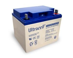 Ultracell UL40-12 12V 40Ah wiederaufladbare VRLA Batterie Akku VdS