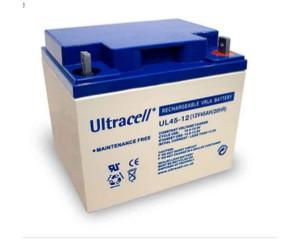Ultracell UL45-12 12V 45Ah wiederaufladbare VRLA Batterie Akku VdS