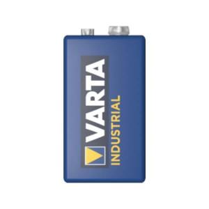 Varta Industrial Alkaline Batterie - 9V Block, 6LR61, 550mAh