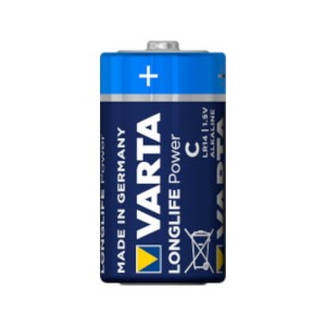 Varta Longlife Power C / LR14 | 1,5V Batterie 7800mAh