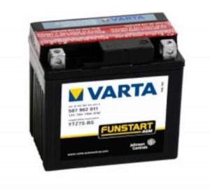 VARTA Powersports AGM 507 902 011 Motorradbatterie  - 12V 5Ah wartungsfrei