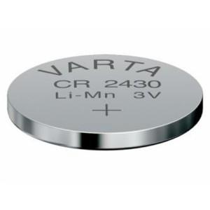 VARTA CR2430 Lithium Knopfzelle 3,0V 280mAh