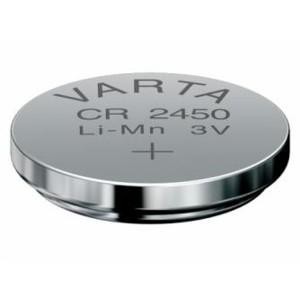 VARTA CR2450 Lithium Knopfzelle 3,0V 560mAh