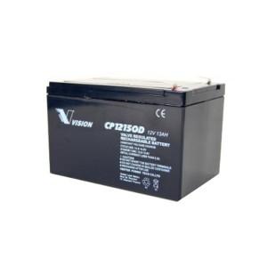 Vision CP12150D 12V 15Ah Blei-Akku / AGM Batterie Zyklenfest