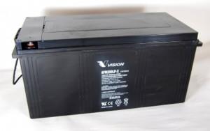 Vision 6FM200P-X 12V 200Ah VRLA-AGM Batterie Zyklenfest