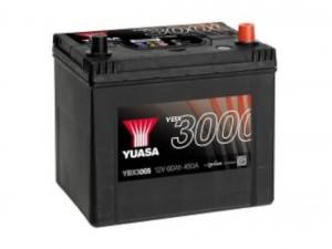 YUASA KFZ / Autobatterie YBX3005 - 12V 60Ah