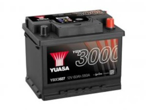 YUASA KFZ / Autobatterie YBX3027 - 12V 60Ah