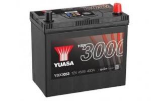 YUASA KFZ / Autobatterie YBX3053 - 12V 45Ah