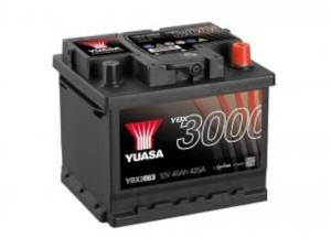 YUASA KFZ / Autobatterie YBX3063 - 12V 45Ah