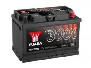 YUASA KFZ / Autobatterie YBX3096 - 12V 75Ah