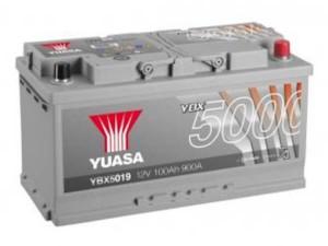 YUASA KFZ / Autobatterie YBX5019 - 12V 100Ah