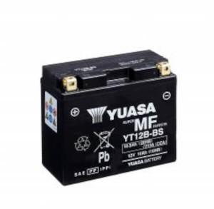 YUASA Motorradbatterie YT12B-BS - 12V 10Ah wartungsfrei