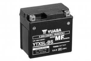 YUASA Motorradbatterie YTX5L-BS - 12V 4Ah wartungsfrei