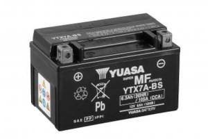 YUASA Motorradbatterie YTX7A-BS - 12V 6Ah wartungsfrei