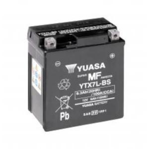 YUASA Motorradbatterie YTX7L-BS - 12V 6Ah wartungsfrei