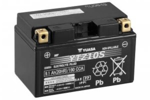 YUASA Motorradbatterie YTZ10S - 12V 9,1Ah wartungsfrei High Performance