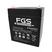 FIAMM FG 20451 12V 4,5 Ah Bleigel Blei Akku FG 20451 AGM