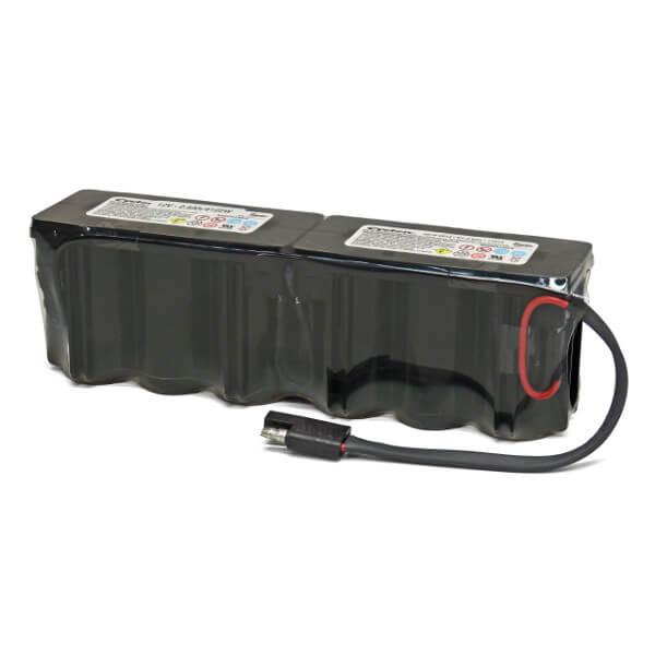 EnerSys Cyclon Akku 0819-0017 - 12V 2,5Ah F1x6 Kabel Stecker