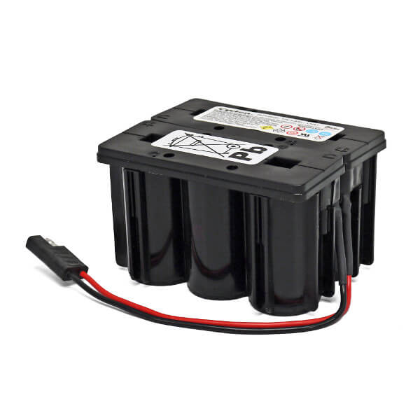 EnerSys Cyclon Akku 0819-0024 - 12V 2,5Ah F2x3 Kabel Stecker