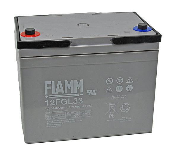 Fiamm 12FGL33 12V 33Ah Blei-Akku / AGM Batterie