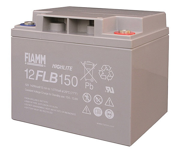Fiamm 12FLB150 Highlite 12V 40Ah Blei-Akku / AGM Batterie