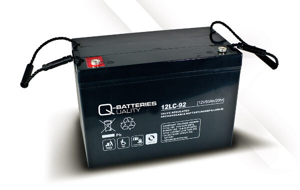 Q-Batteries 12LC-92 12V 93Ah Blei-Akku / AGM Batterie Zyklentyp