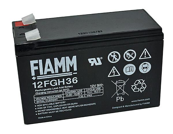 Fiamm 12FGH36 12V 9Ah Blei-Akku / AGM Batterie Hochstrom