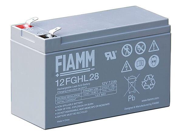 Fiamm 12FGHL28 12V 7,2Ah Blei-Akku / AGM Batterie Hochstrom Longlife