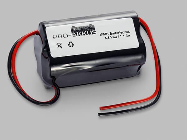 Ni-Mh Notbeleuchtung Akku 4,8V / 1,1Ah kompatibel zu ARTS Energy 40066070670