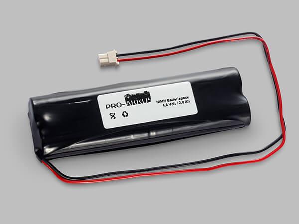 NiMh Notbeleuchtung Akku 4,8V / 1700mAh passend für Esylux EN10060403