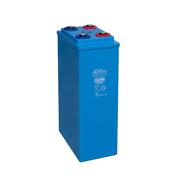 Fiamm 2SLA2000 2V 2000Ah Blei-Akku / AGM Batterie