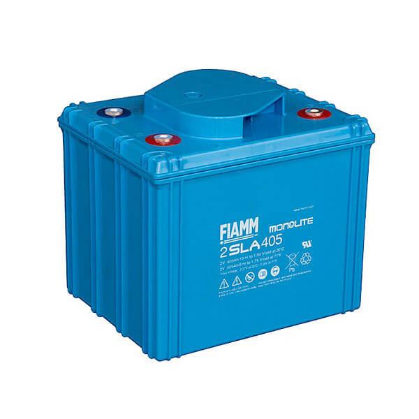 Fiamm 2SLA405 2V 405Ah Blei-Akku / AGM Batterie