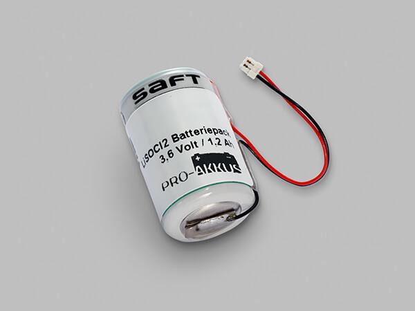 Lithium Batterie 3,6V passend für Winkhaus BlueChip Schließsystem