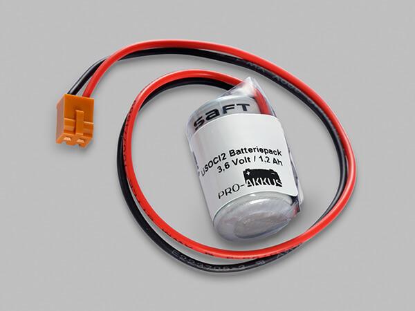Lithium Batterie 3,6V passend für Omron SPS CJ1, CPM2A, CQM1H