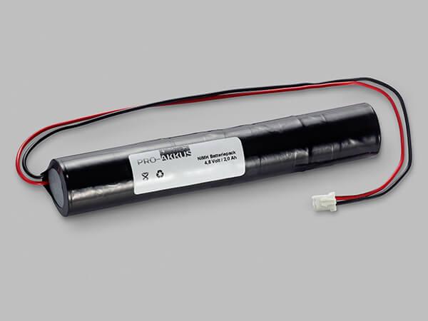 Ni-Mh Notbeleuchtung Akku 4,8V / 2000mAh kompatibel zu IL570004 / 14A5-002