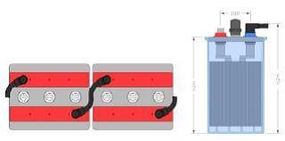 Inbatt OGi-Block 10 OGi 250 - 6V 278Ah (C10) Batterie