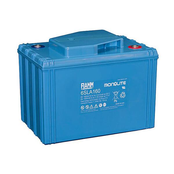 Fiamm 6SLA160 6V 160Ah Blei-Akku / AGM Batterie