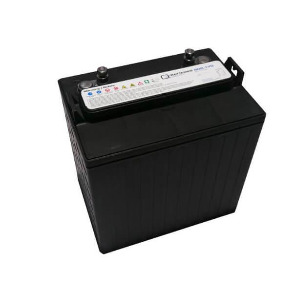 Q-Batteries 8DC-170 8V 170Ah Deep Cycle Blei-Säure-Akku Zyklentyp