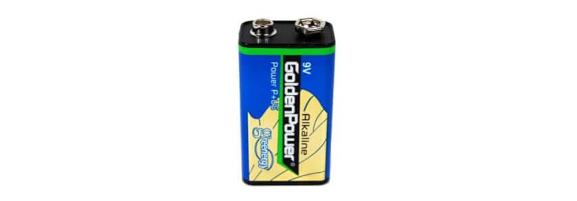 9V Block Batterien
