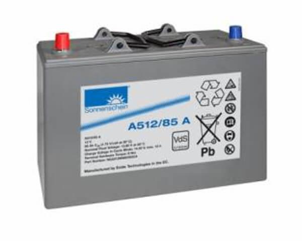 Sonnenschein A512/85A (12V / 85Ah) Blei-Gel Akku VdS
