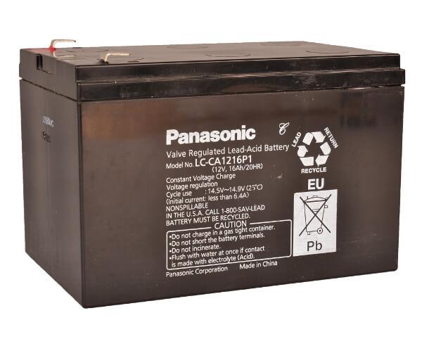 Panasonic LC-CA1216P1 12V 16Ah Blei-Akku / AGM Batterie Zyklenfest