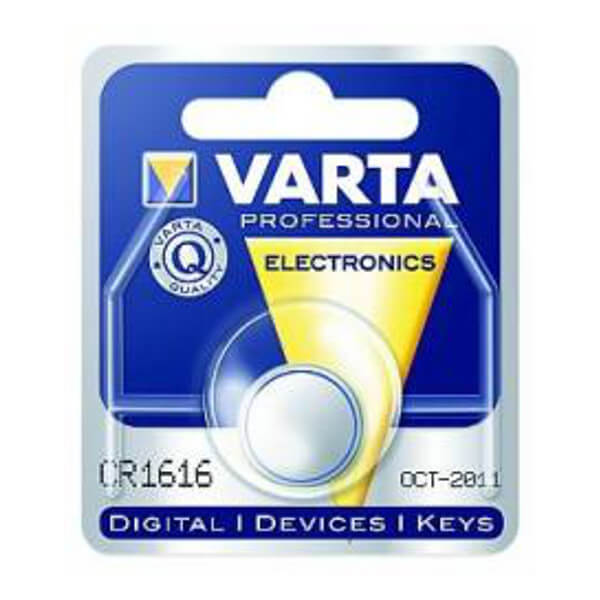 VARTA CR1616 Lithium Knopfzelle 3,0V 55mAh 1er-Blister