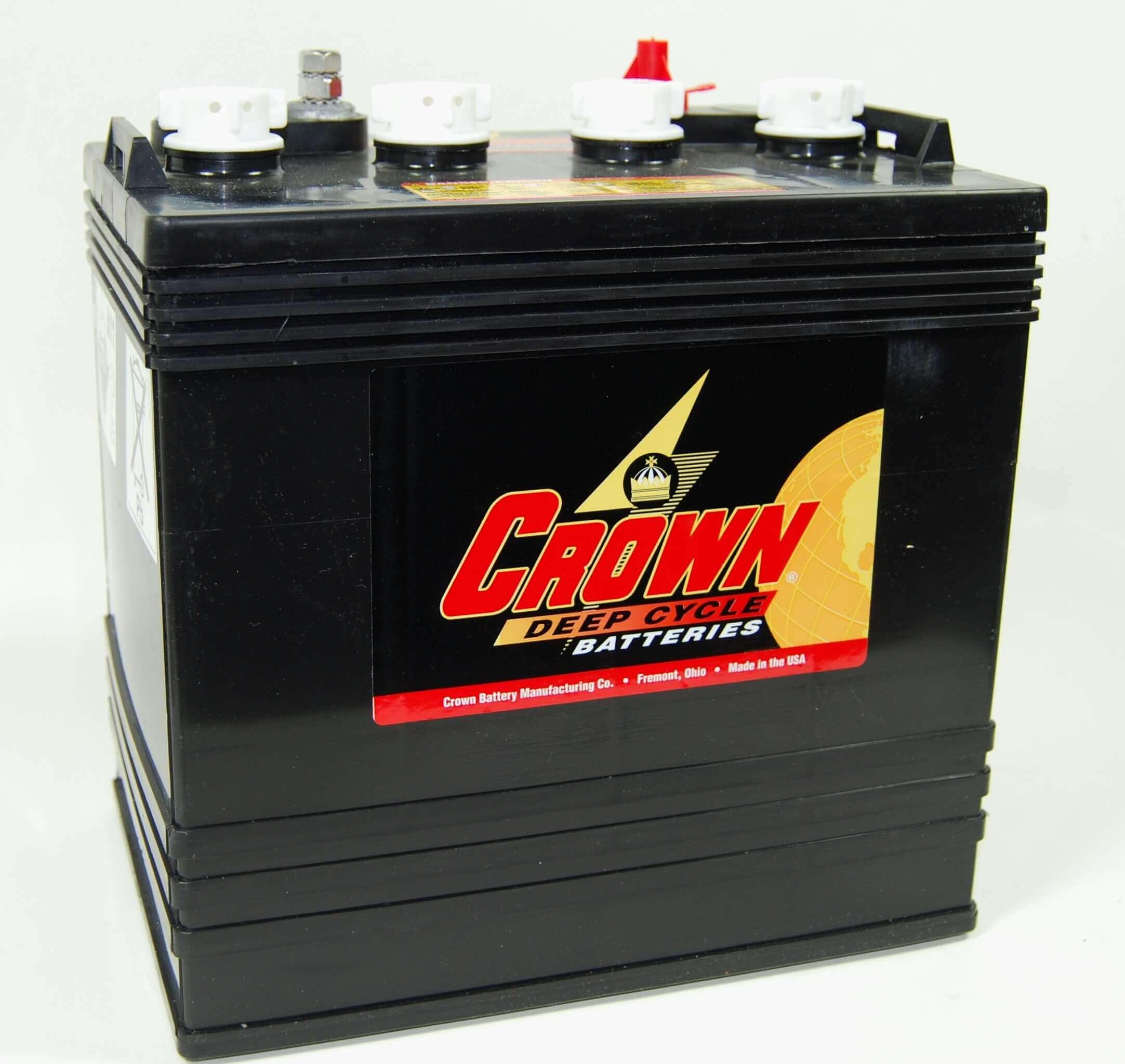 Crown CR165 8V 165Ah Deep-Cycle Bleiakku