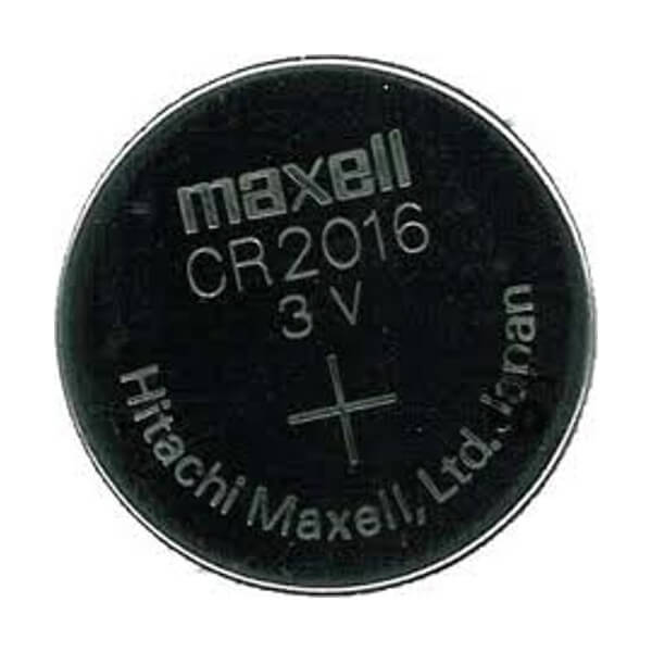 MAXELL LITHIUM KNOPFZELLE CR 2016 3,0V