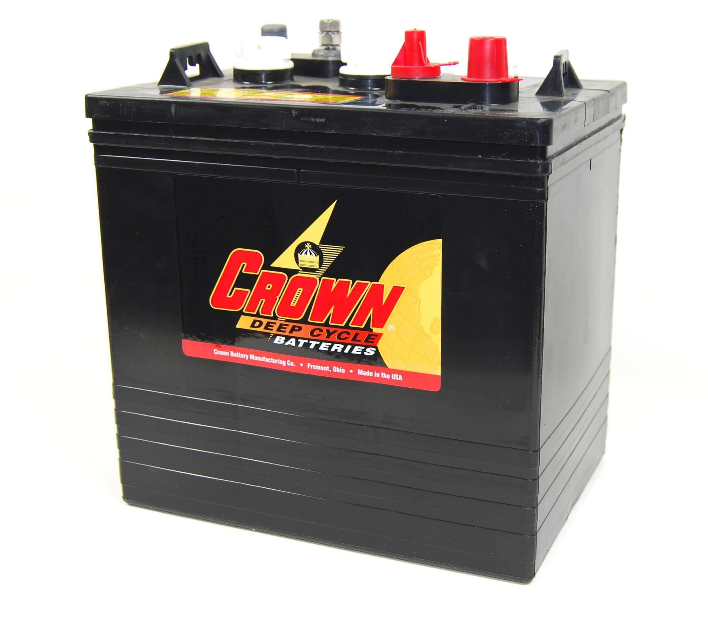Crown CR225 6V 225Ah Deep-Cycle Bleiakku