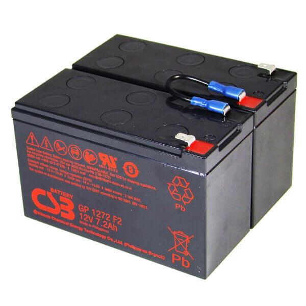 USV Ersatzakkuset für APC-RBC5 vormontiert mit Kabel und Stecker Industrieausrüsterqualität