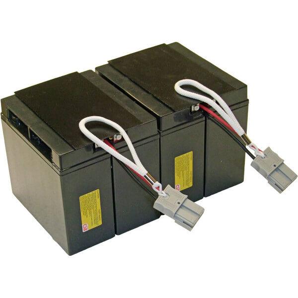 USV Ersatzakkuset für APC-RBC55 vormontiert mit Kabel und Stecker Industrieausrüsterqualität